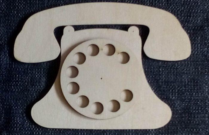 Бизиборд заготовка - телефон