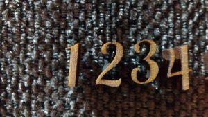 Слова, буквы и цифры на заказ из фанеры или оргстекла
