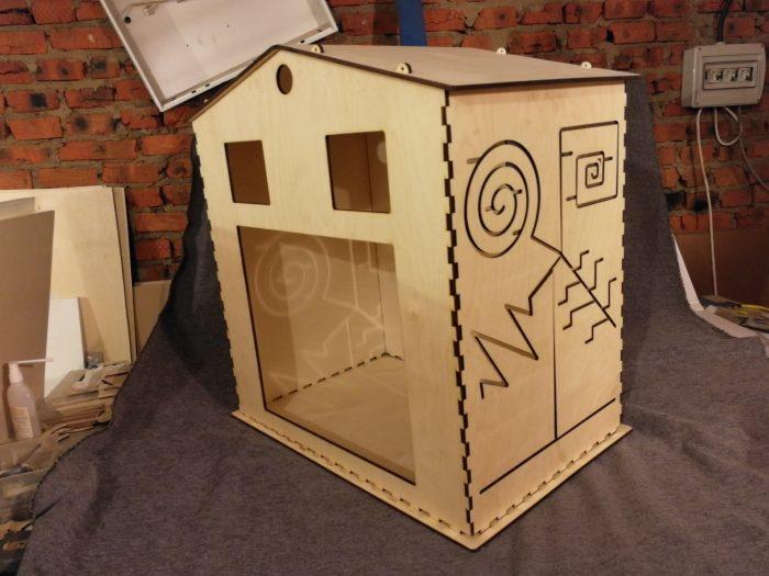 Большой бизидом - игровой дом