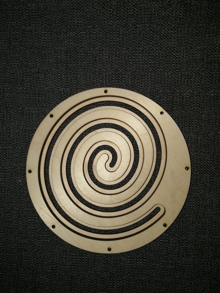 Спиральный лабиринт для бизиборд купить детали