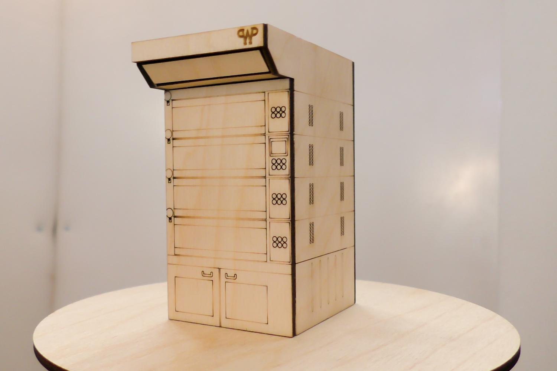 Макет подовой печи для Вернер & Пфляйдерер
