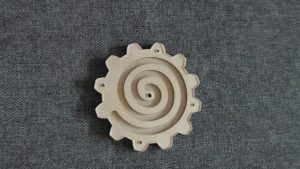 Бизиборд шестеренки со спиралью