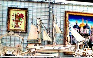 Выставка Атмосфера творчества Москва Резка лазером