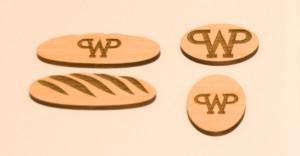 Вернер & Пфляйдерер Брелоки из шпона - резка лазером и гравировка