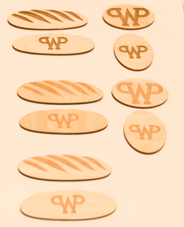 гравировка разной интенсивности для фирмы Werner & Pfleiderer