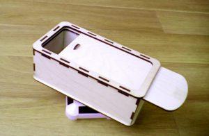 Коробка (пенал с выдвигающейся крышкой)